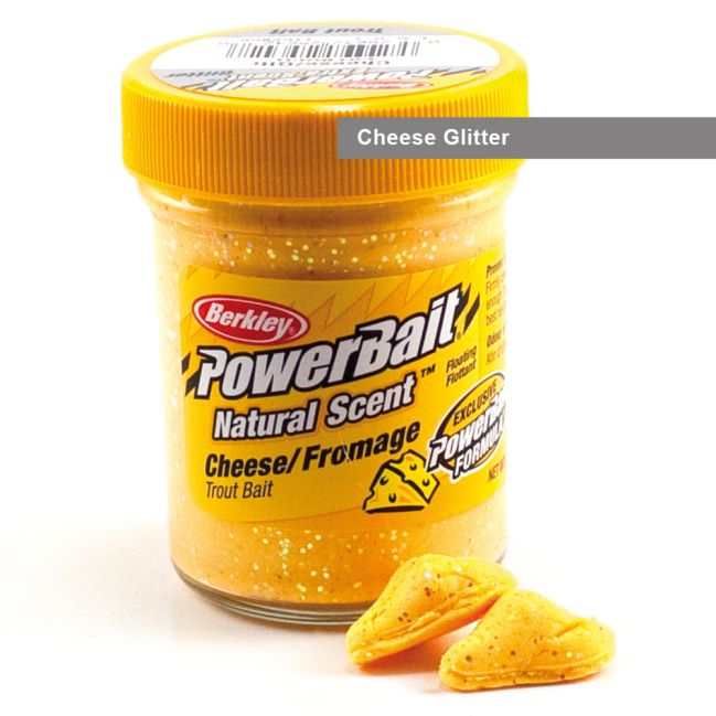 POWERBAIT SELECT TROUT BAIT 50G CHEESE GLITTER
