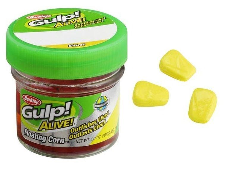 Kukuřice plovoucí žlutá Gulp! Alive 50ks