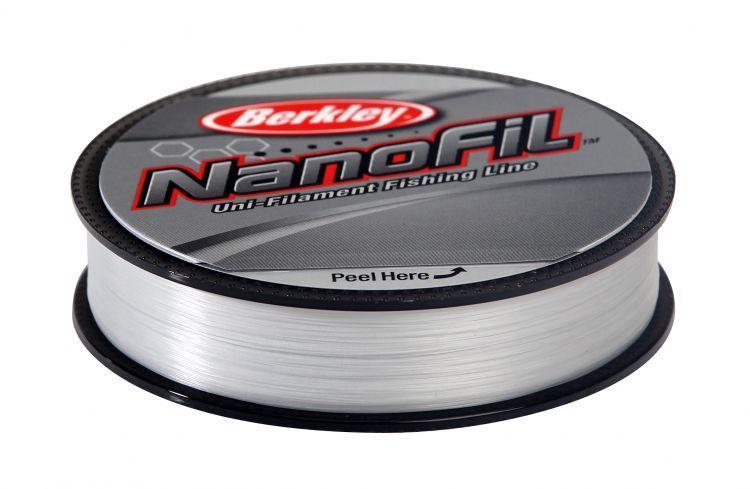 BERKLEY NANOFIL CLEAR MIST 125M 0,12 6,9KG