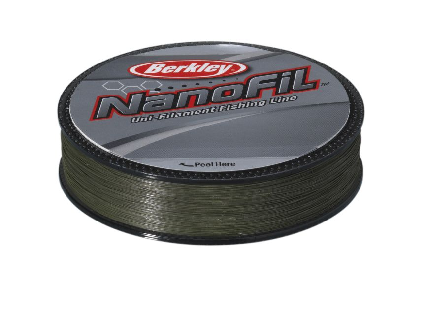 BERKLEY NANOFIL 0.12 125M LO-VIS GREEN