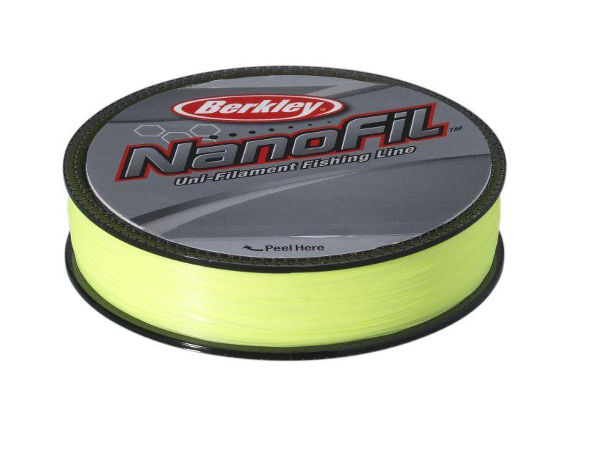 BERKLEY NANOFIL 0.10 125M HI-VIS CHARTREUSE