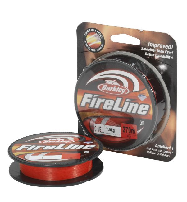 BERKLEY FIRELINE FUSED ORIGINAL 110M 0,12MM 6,8KG RED