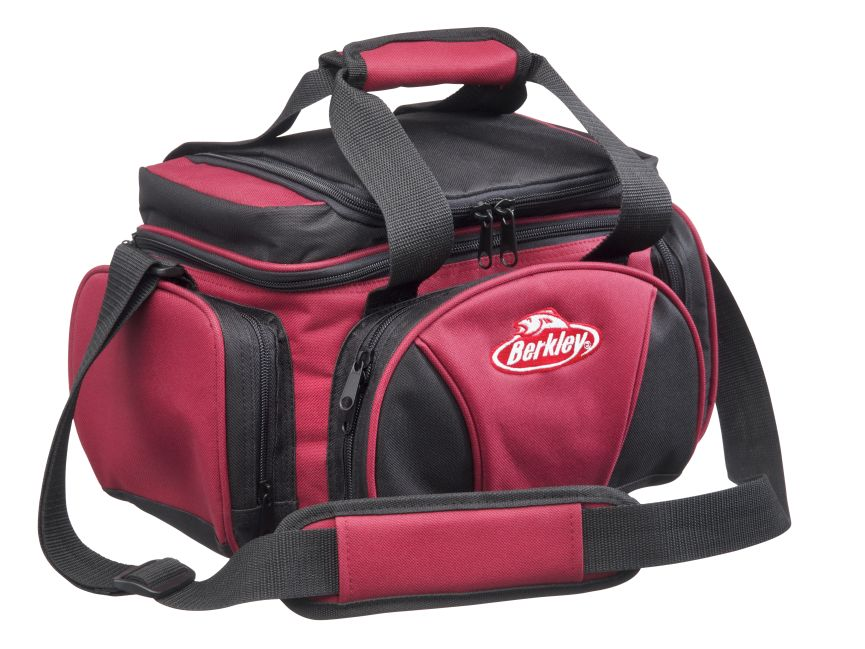 BERKLEY Přívlačová taška Berkley SYSTEM BAG 2015 RED-BLACK L