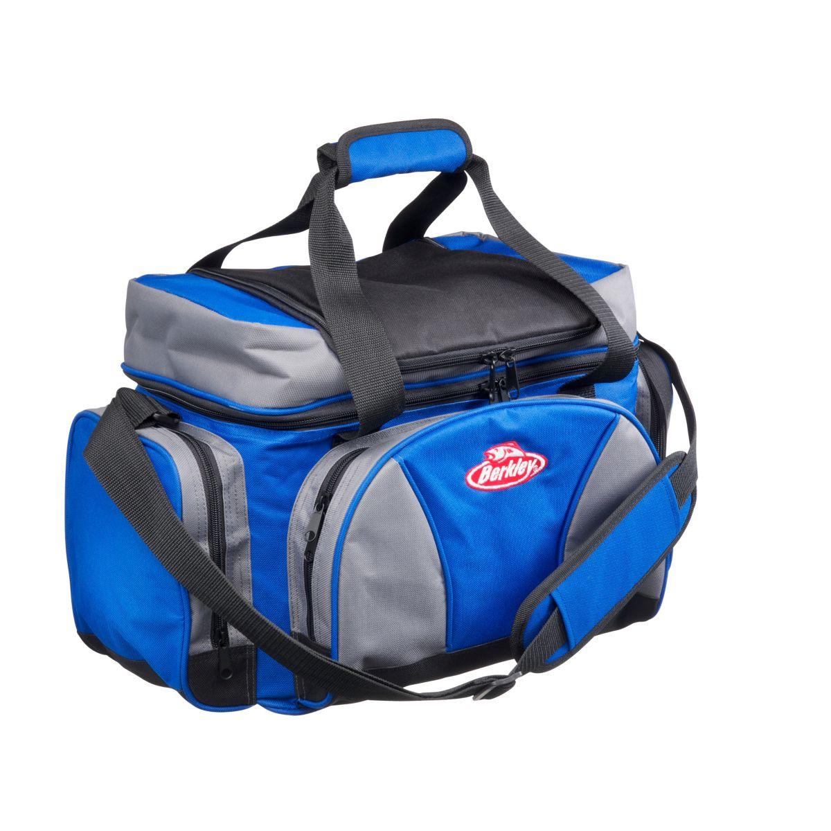 BERKLEY Přívlačová taška s krabičkami Berkley System Bag Blue Grey Black XL