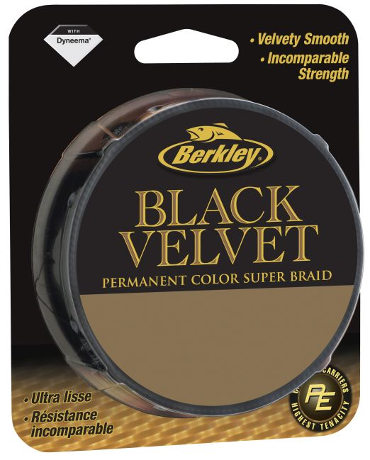 BERKLEY BLACK VELVET 0.08MM 110M