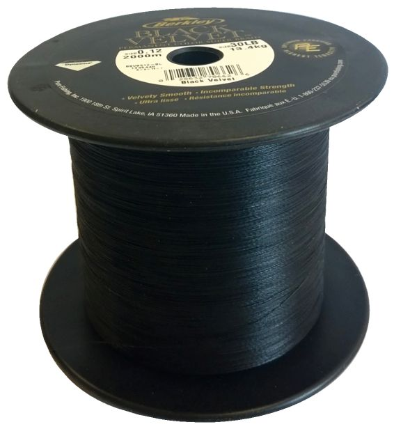 BLACK VELVET 2000M 0,08MM 10,1KG