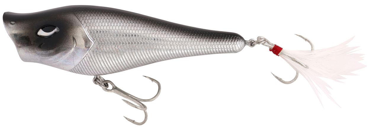 ROCKET POPPER 7CM SILVER CHROME 9G
