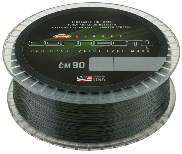 BERKLEY CONNECT+ CM90 1200m 0.28mm Weedy Green