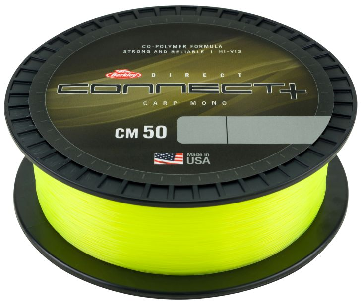 BERKLEY CONNECT+ CM50 YELLOW 1200M 0,25MM 4,5kg