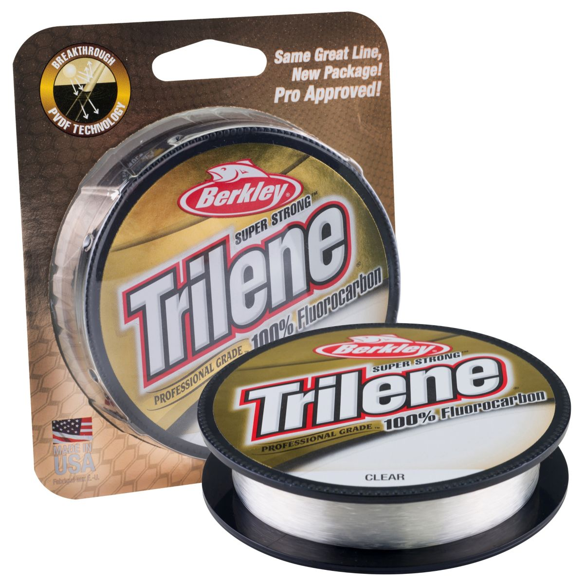 BERKLEY Trilene 100% Fluorocarbon 50m - 0.45m (číry)