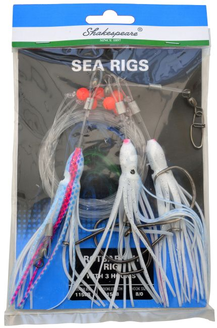 ROTBARSCH RIG WITH 3 HOOK´s