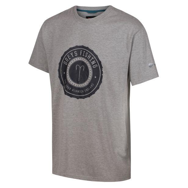 HERITAGE T-SHIRT (Grey) XL