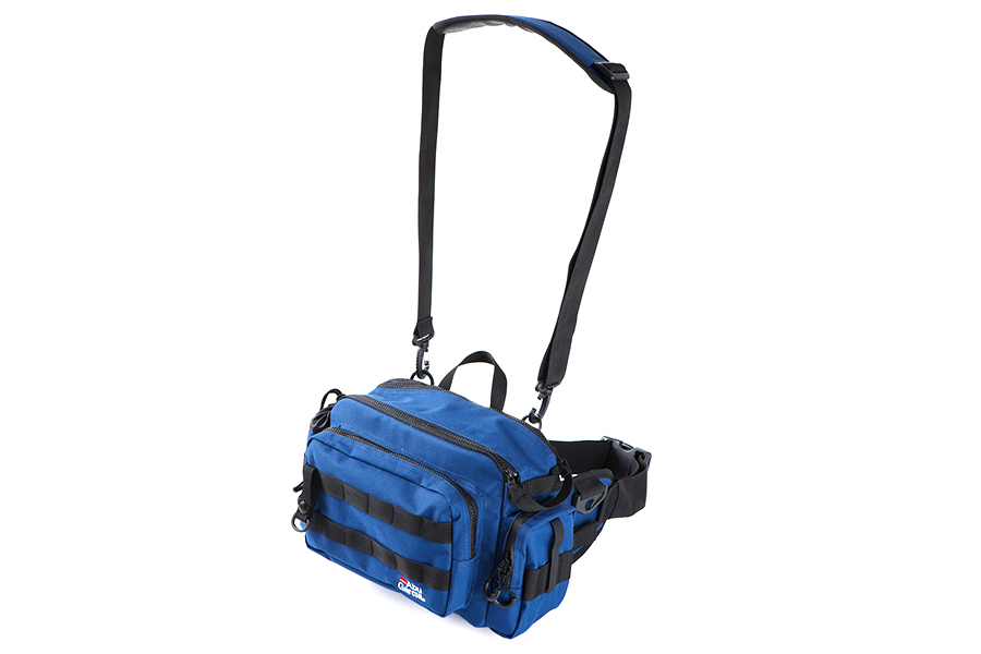 ABU GARCIA Ľadvinka Hip Bag Large 2 Royal Navy (20x28x12cm)