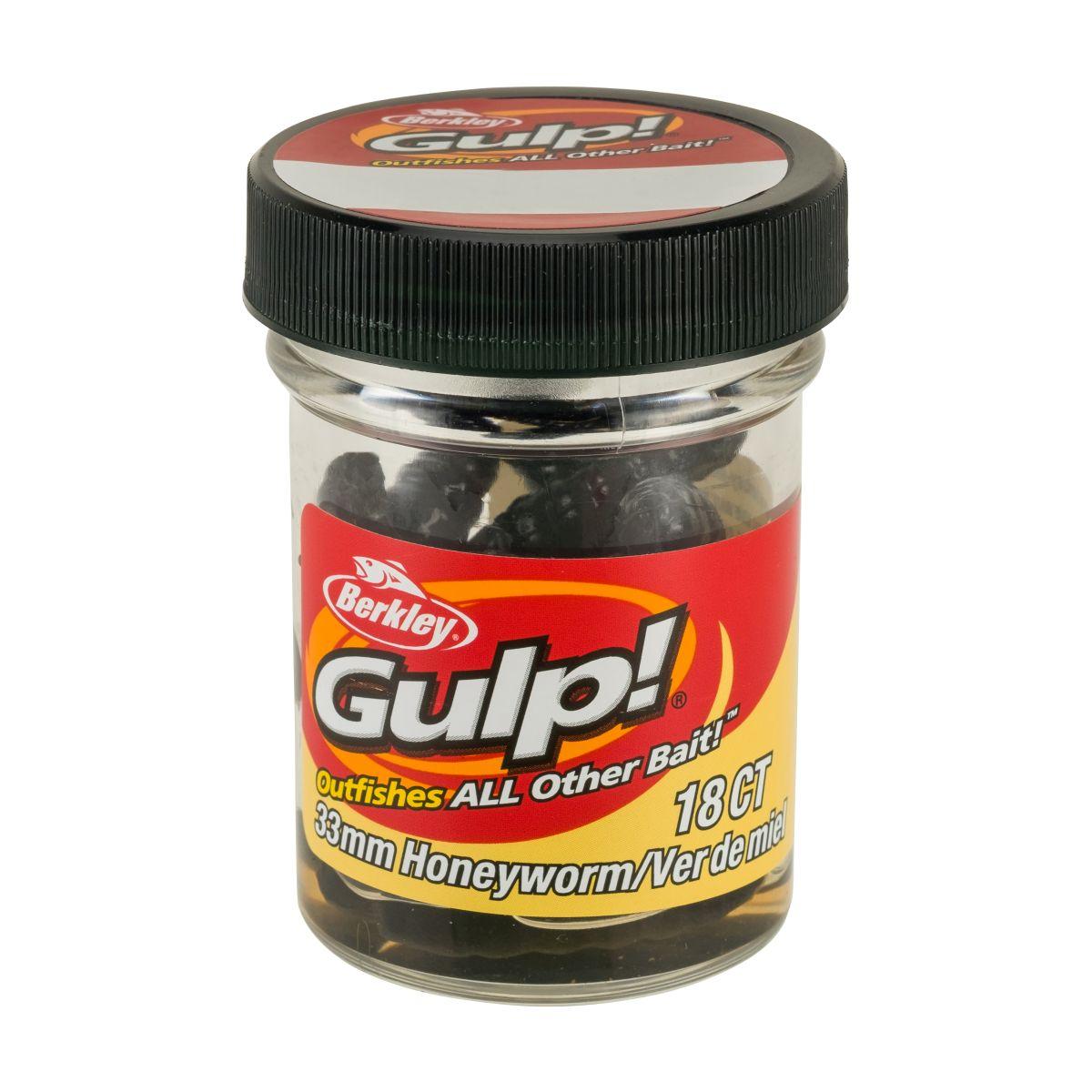 BERKLEY GULP! Honey Worm - 3.3cm (Black)