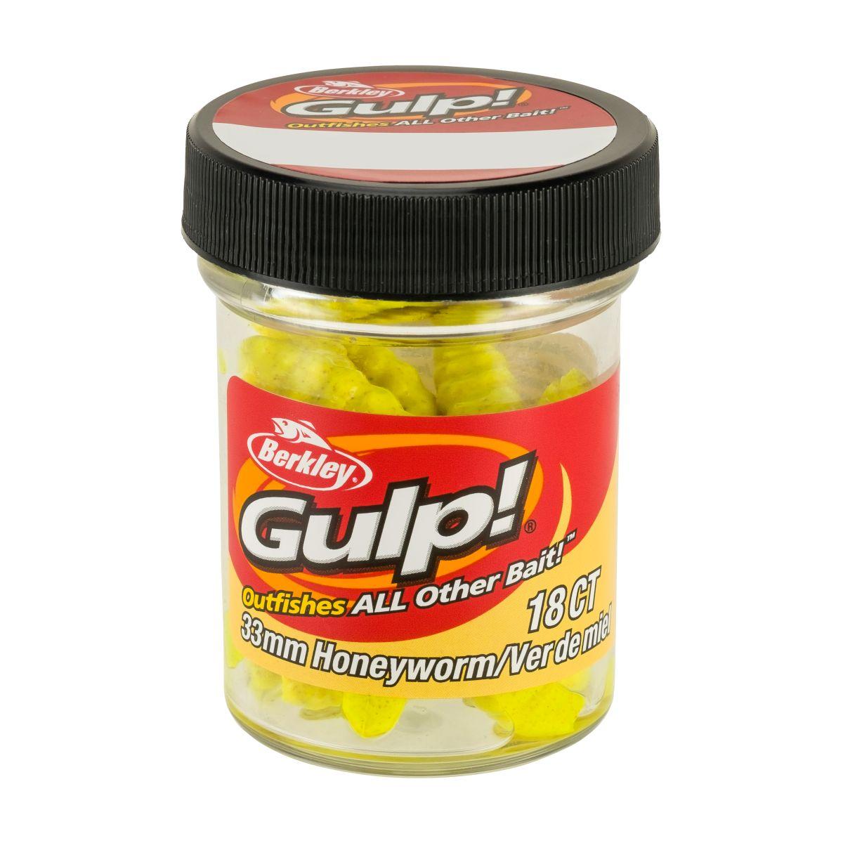 BERKLEY GULP! Honey Worm - 3.3cm (Yellow)