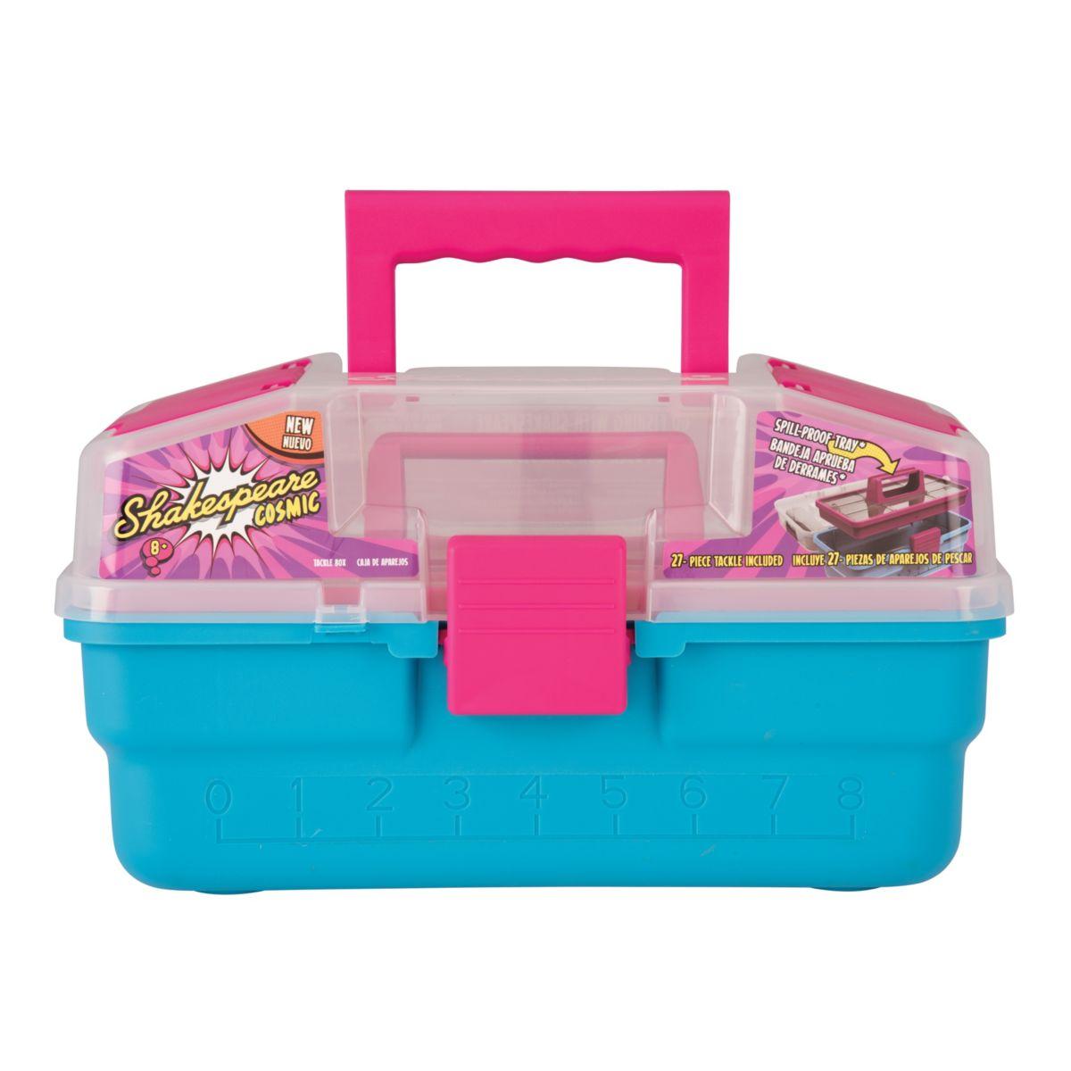 Dětský kufřík Shakespeare Cosmic Raspberry Tackle Box
