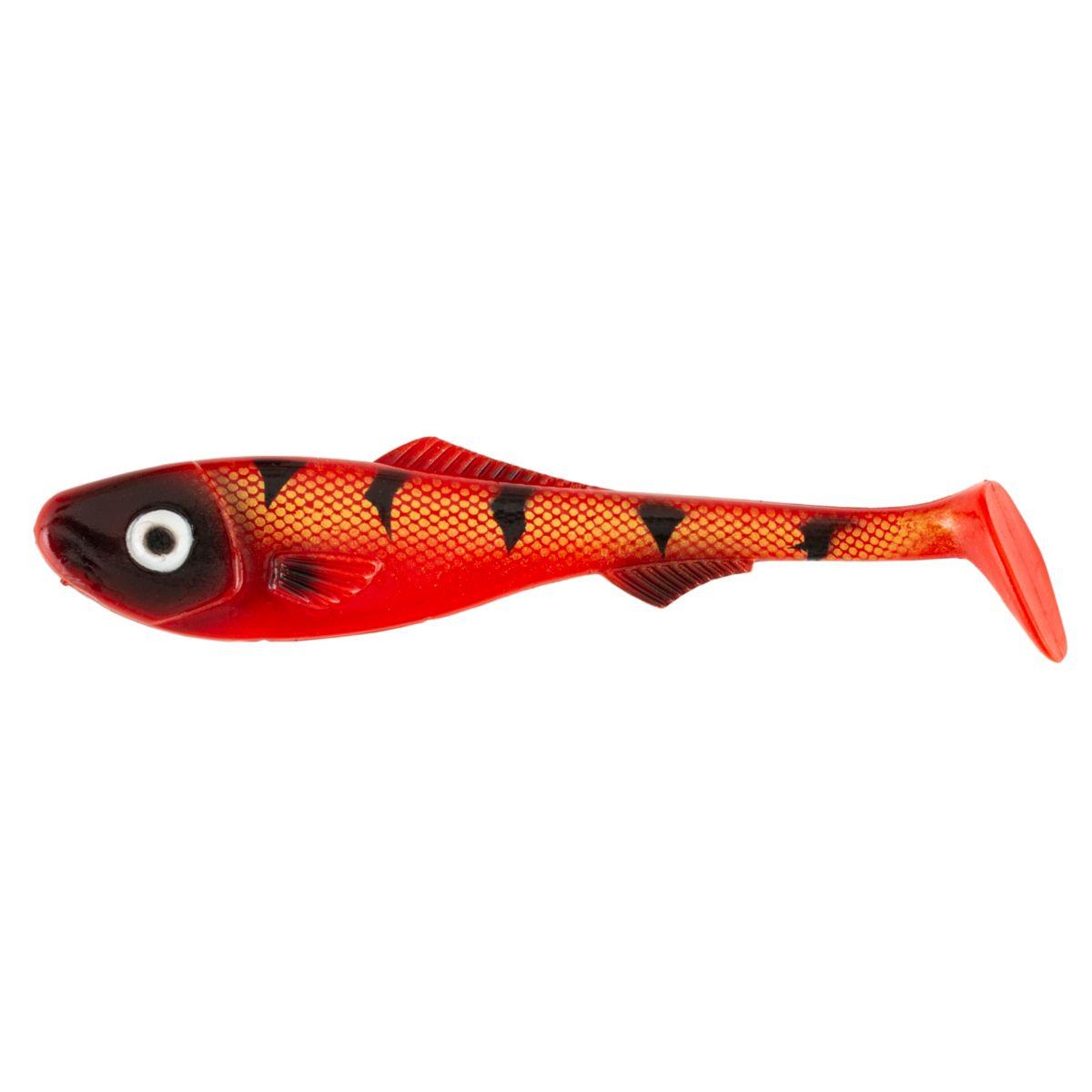ABU GARCIA Rybka BEAST PIKE SHAD - RED TIGER 16cm