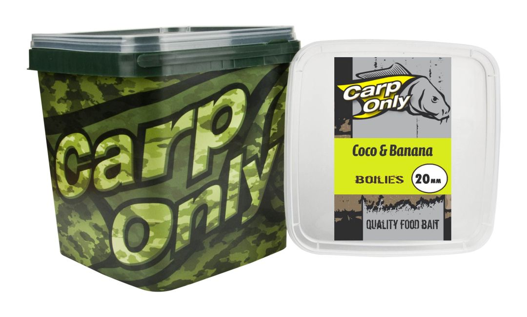 CARP ONLY COCO & BANANA BOILIE 24MM 3KG