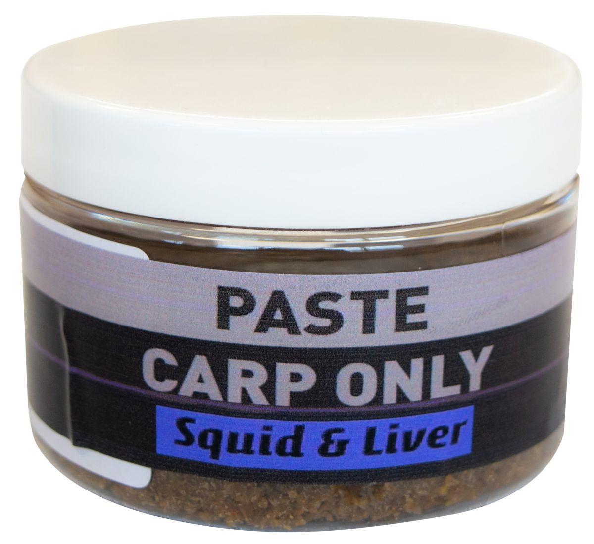 CARP ONLY Obalovacia pasta Squid Liver 150g