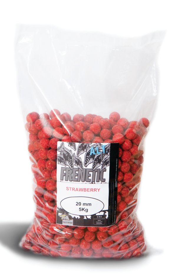CARP ONLY Frenetic A.L.T. Boilies JAHODA 5kg - 16mm