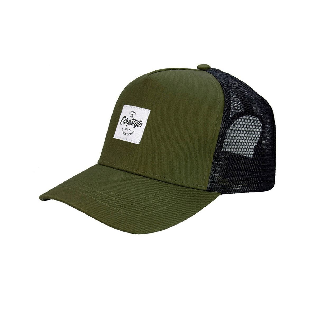 CARPSTYLE Kšiltovka Carpstyle Green Forest Trucker Snap