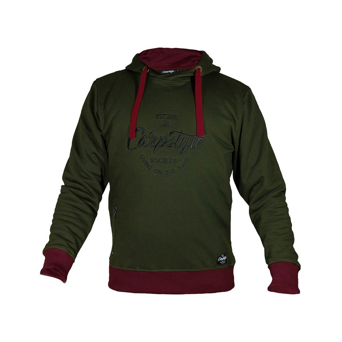 CARPSTYLE Green Forest Hoodie - M