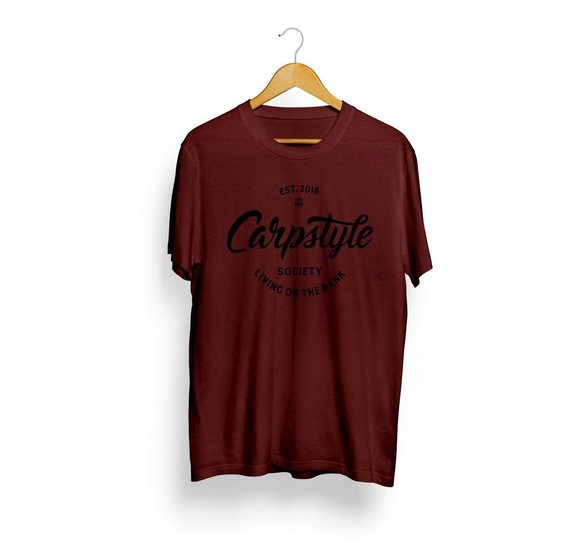 CARPSTYLE T-Shirt 2018 - Burgundy - M