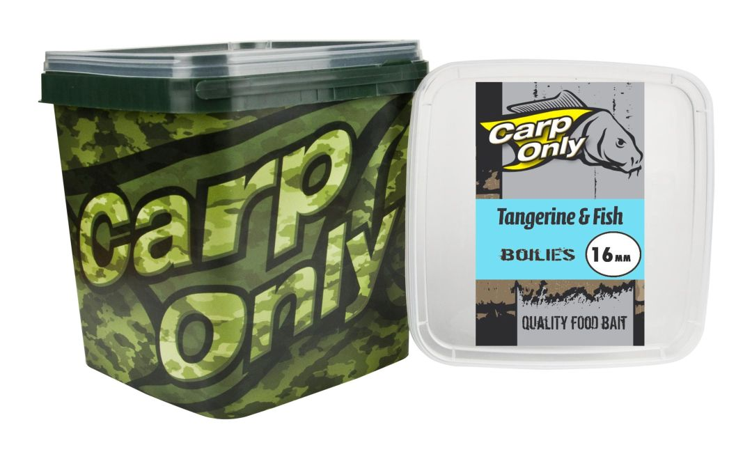 CARP ONLY TANGERINE & FISH BOILIE 16MM 3KG