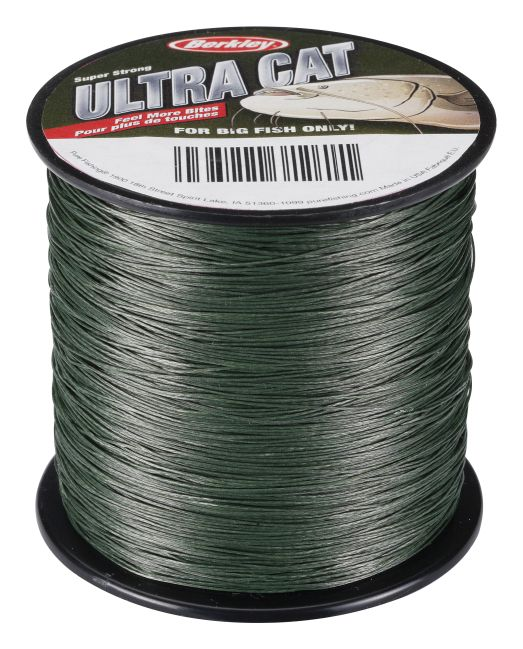 BERKLEY ULTRA CAT LV GREEN 250M 0.30MM 45KG