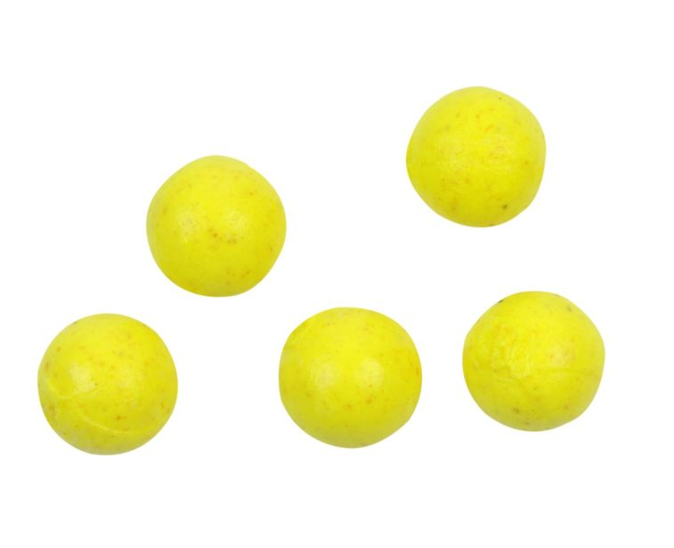 GULP! ALIVE FLOATING SALMON EGGS 9MM FLUOROSCENT YELLOW