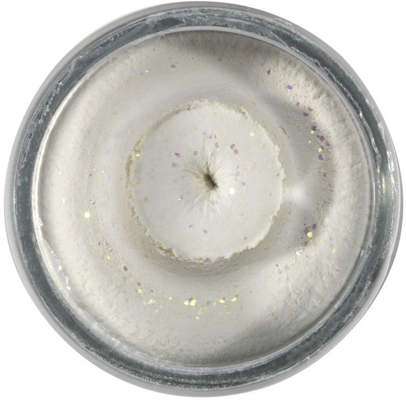 POWERBAIT NATURAL GLITTER TROUT BAIT FISH PELLET 50G WHITE