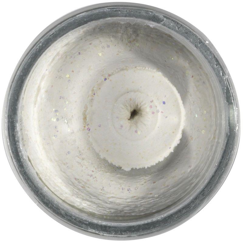 POWERBAIT NATURAL GLITTER TROUT BAIT LIVER 50G WHITE