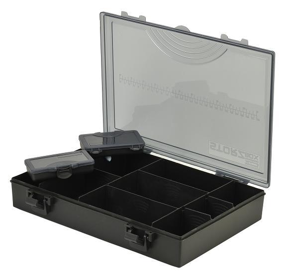 Krabice Shakespeare Tackle Box System Medium (+2krabičky)