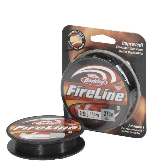 BERKLEY FIRELINE FUSED ORIGINAL SMOKE 110M 0,12MM 6,8KG