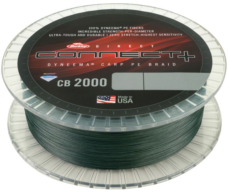 BERKLEY CONNECT+ CB2000 MOSS GREEN 900M 0,16MM 6,75KG