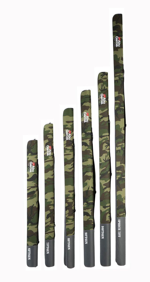 ABU GARCIA Pouzdro na prut Abu Garcia Semi Hard Rod Case Camo Japan 140cm