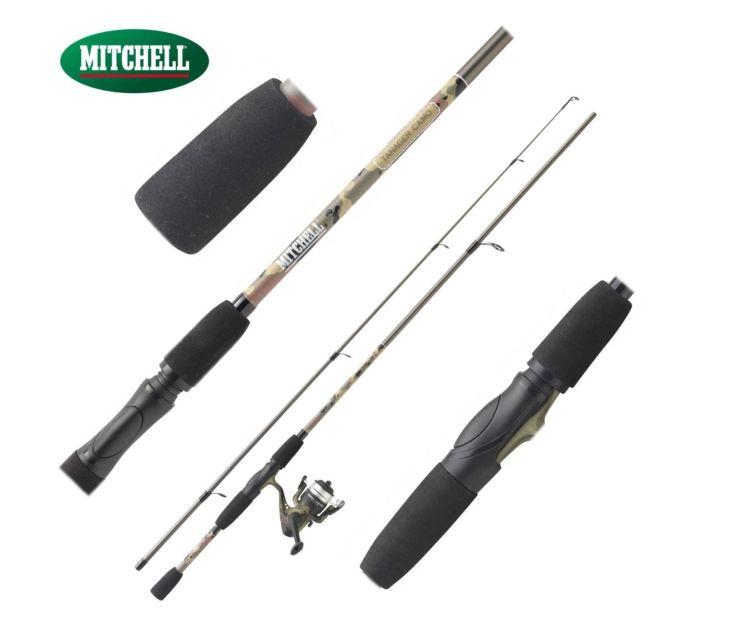 Přívlačový prut Mitchell Tanager Camo Spin 1,80m 5-15g + Naviják Mitchell 20FD ZDARMA