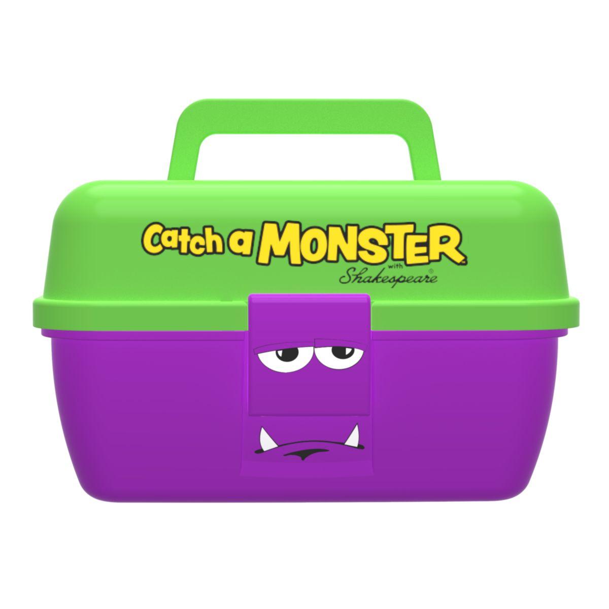 Dětský kufřík Shakespeare Catch a Monster Purple Tackle Box