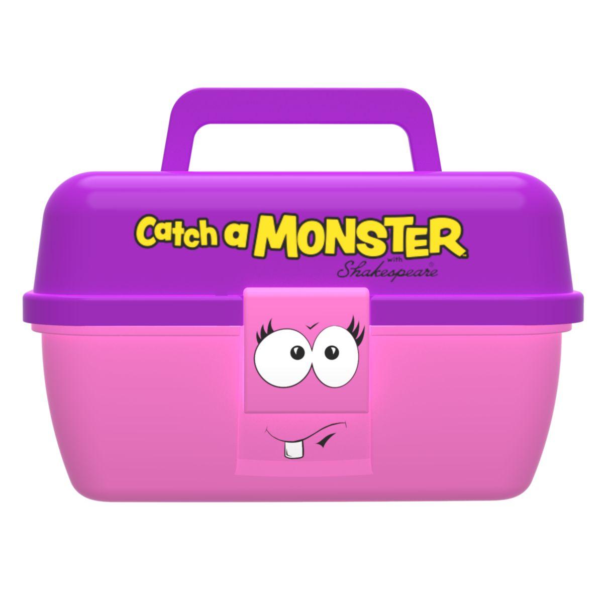 Dětský kufřík Shakespeare Catch a Monster Pink Tackle Box