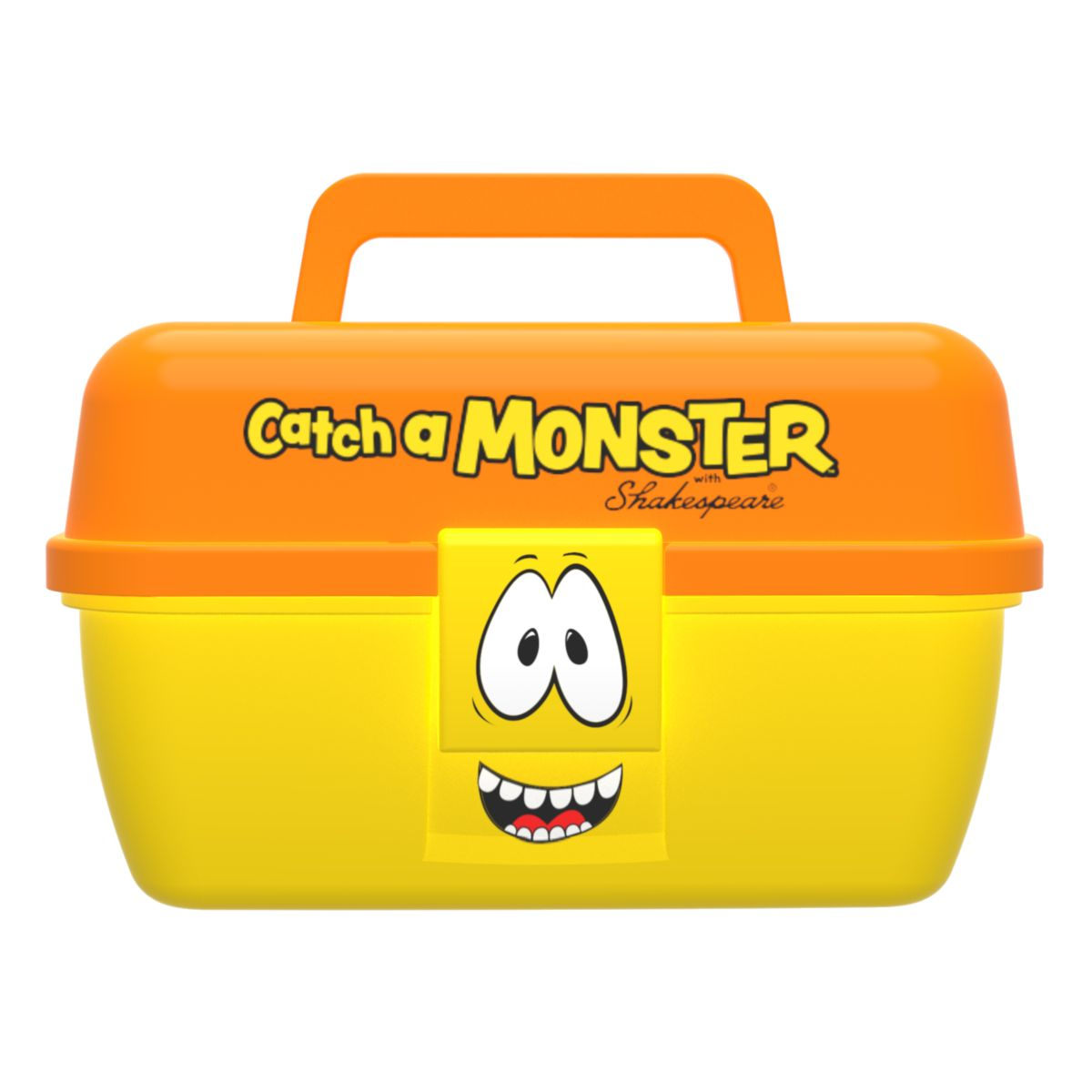 Dětský kufřík Shakespeare Catch a Monster Yellow Tackle Box