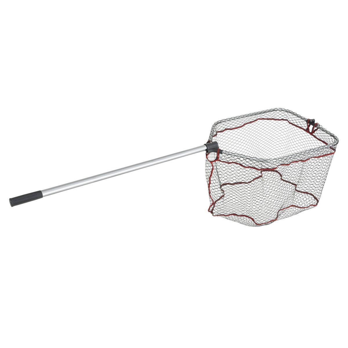 ABU GARCIA Podběrák s gumovou síťkou Abu Garcia Folding Landind Net Rubber L 165cm 1díl