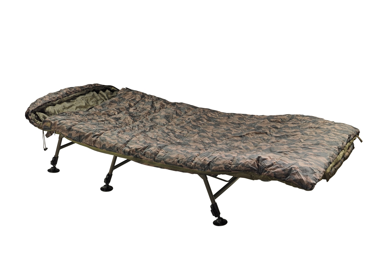 Spací pytel JRC Rova Camo Fleece Sleeping Bag Wide