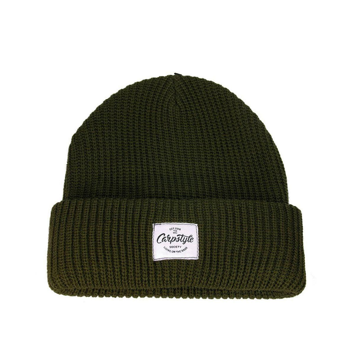 CARPSTYLE Zimní Čepice Carpstyle Green Forest Beanie