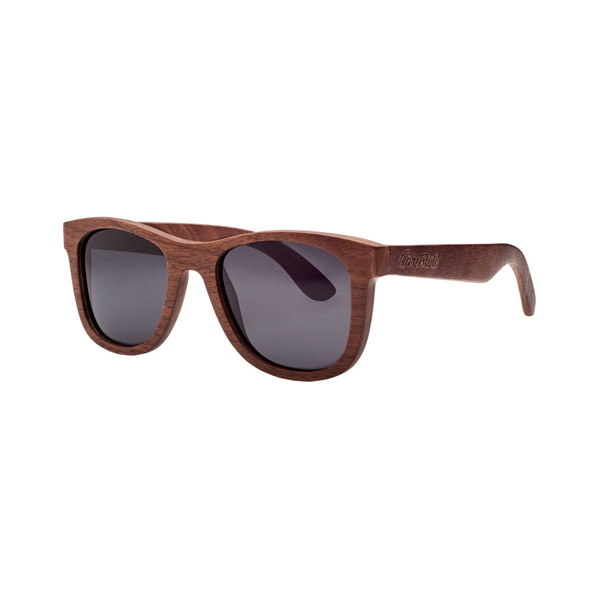 Sluneční Brýle Carpstyle Wayfarer Wood Grey